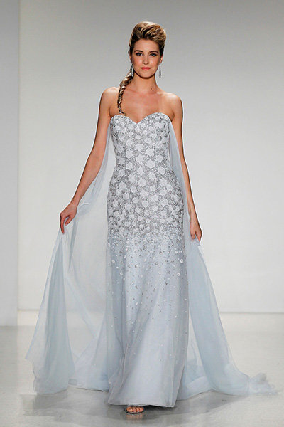 Stunning Ice Blue Wedding Dresses | BridalGuide