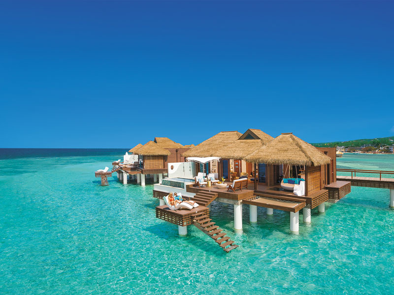 Sandals Royal Caribbean Over-the-Water Butler Villa