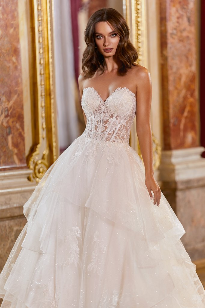moonlight bridal couture BALL GOWN