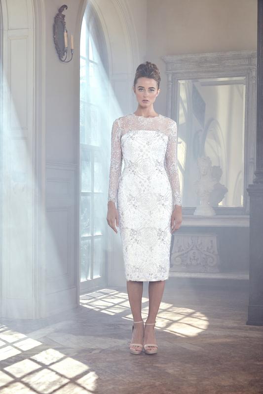 Sareh Nouri Tea Length Dress