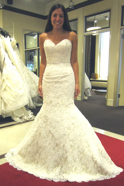 Don T A Dress If You Can See Yourself Walking Down The Aisle In It I Could Definitely Picture Myself This Dazzling