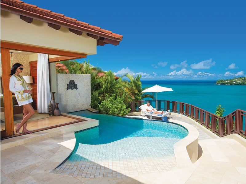 Sandals Regency La Toc Millionaire Villa with Private Pool