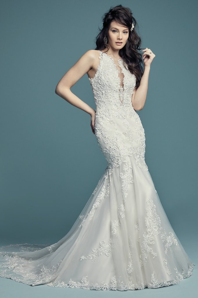 Maggie Sottero Trumpet Style