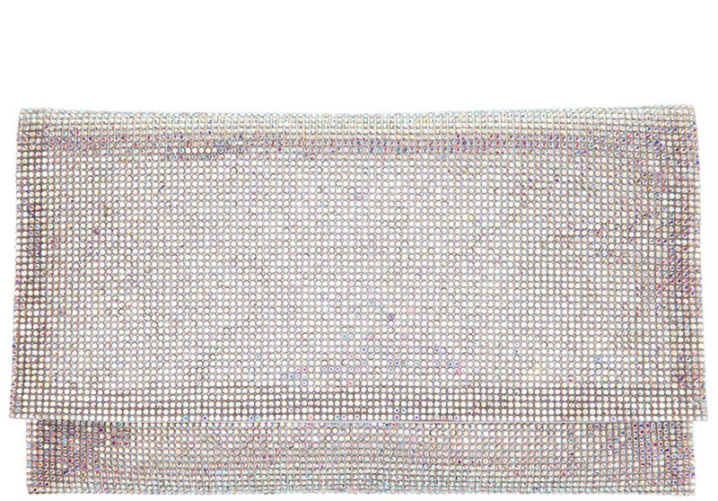 Nina Kimora White Clutch