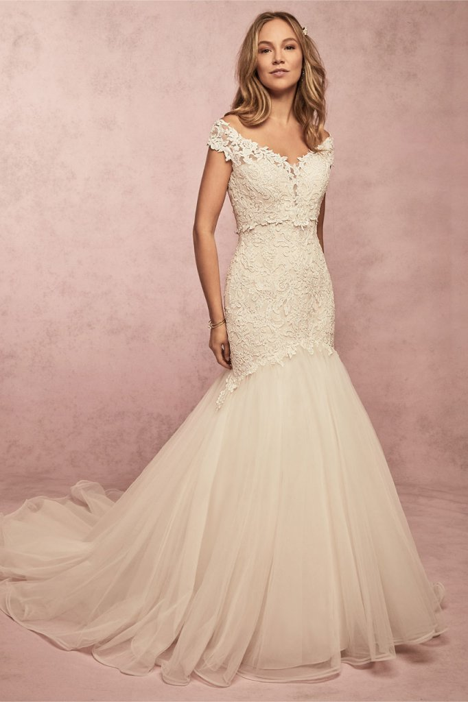 Rebecca Ingram Lace Gown Bliss