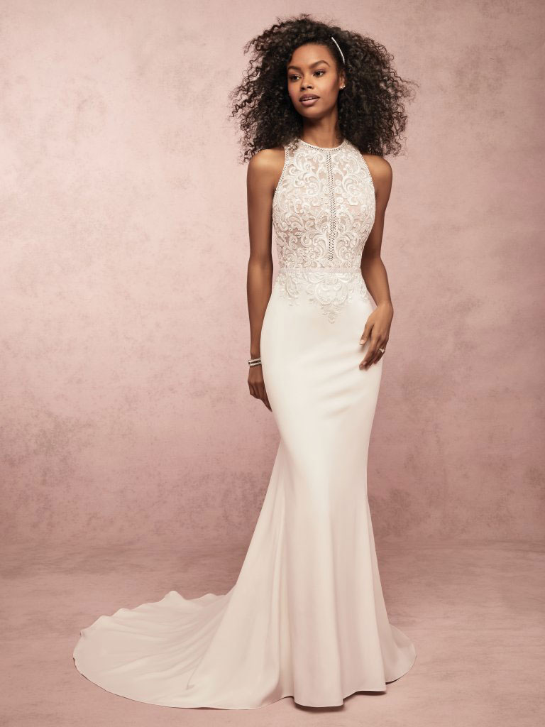 Lace Delores Rebecca Ingram Gown