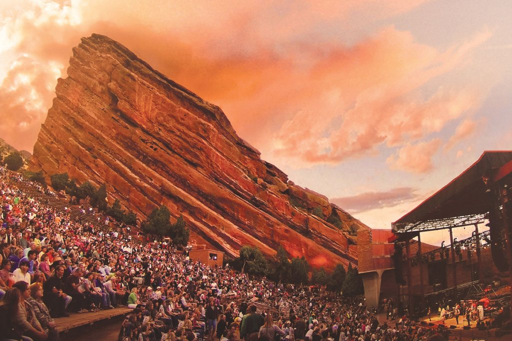 Denver Red Rocks Ampitheatre