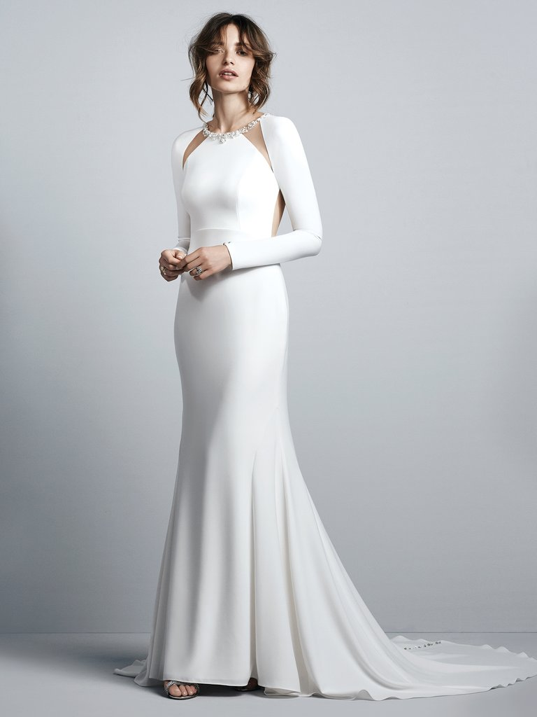 Sottero and Midgley Arleigh Dress with Sleeves
