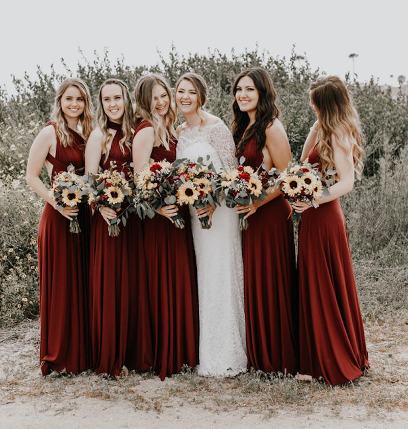 5 hot trends for fall weddings bridalguide gemstone colorways junglespirit Choice Image