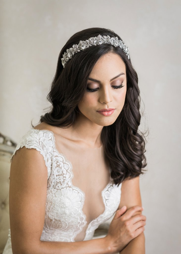 Bel Aire Bridal Crown