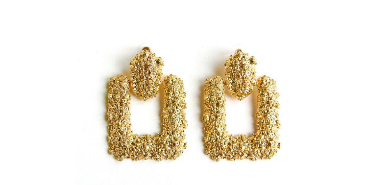 Sparkly Gold Earrings