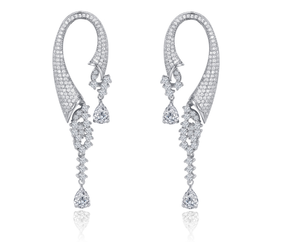 Natalie Mills Earrings - wedding jewelry