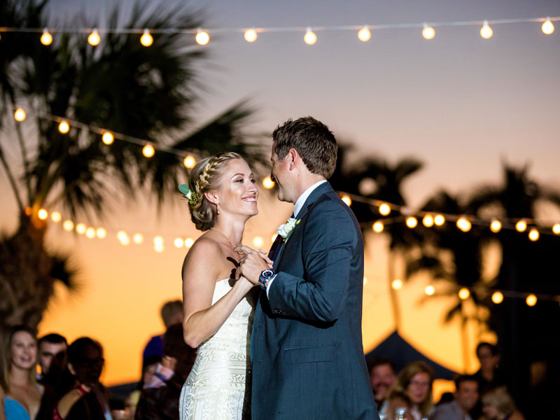 Couple Dancing at Sundial Beach Resort and Spa