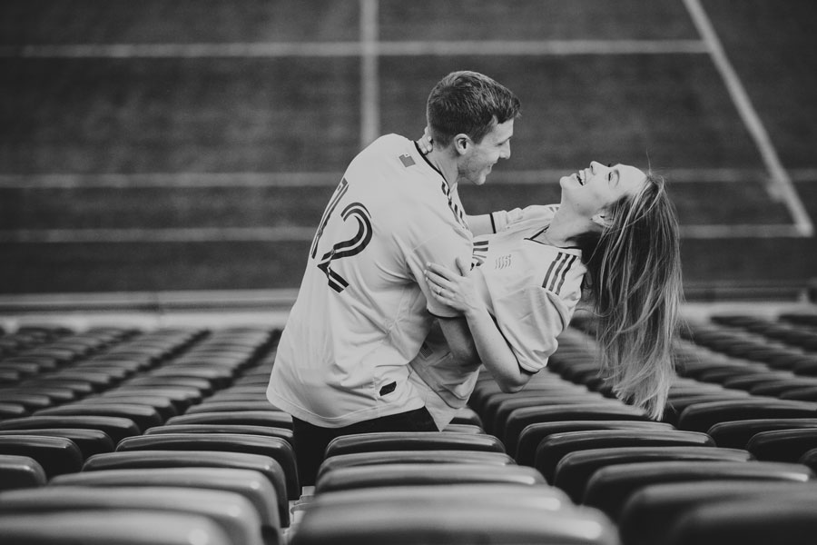 Couple on Field