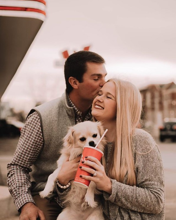 Proposal with Puppy