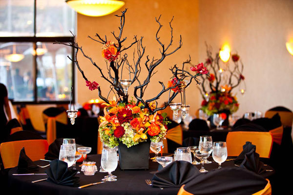 Fall Wedding Ideas - Halloween Wedding Ideas | Wedding Planning