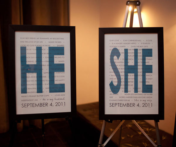 he and she signs