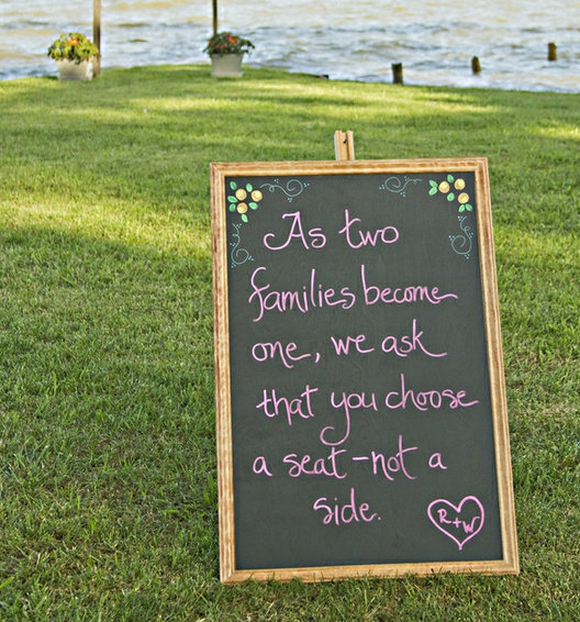 ceremony seating idea