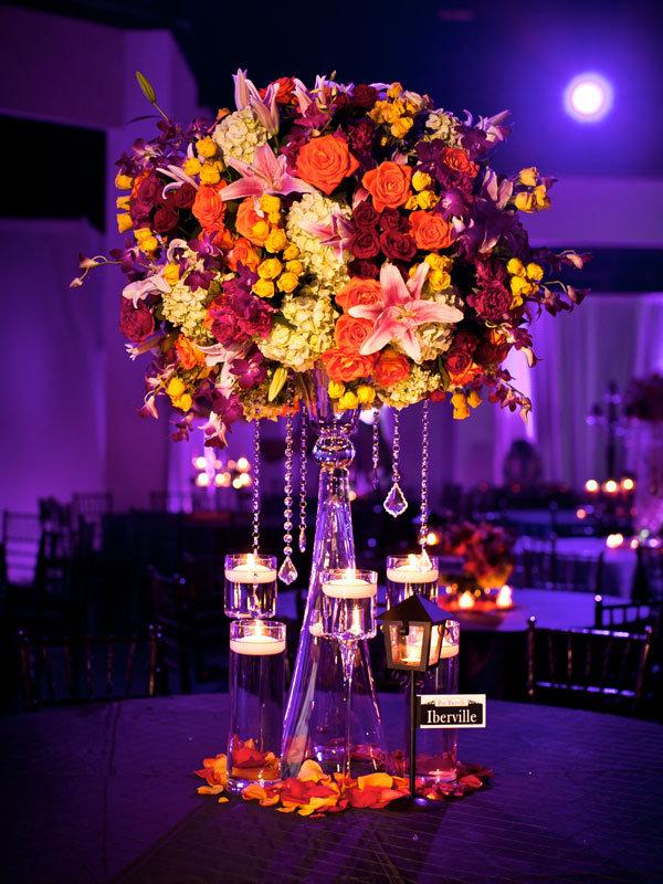 centerpieces romantic decoration