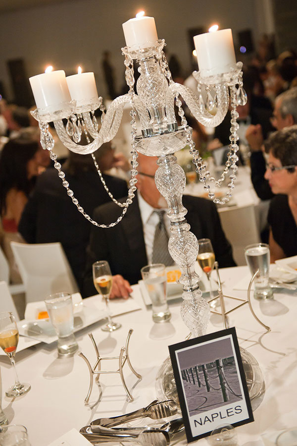 crystal chandelier centerpiece