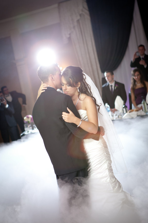 fog machine first dance