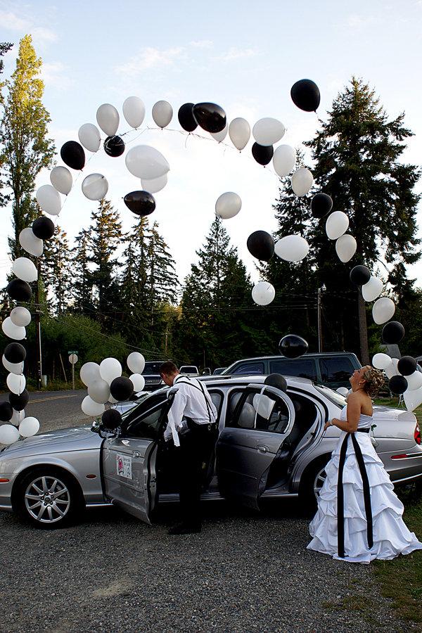 Away wedding car ideas moreover the getaway car chevy my real wedding