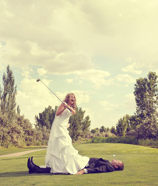 Golf Course Wedding Ideas: Photo Of The Day