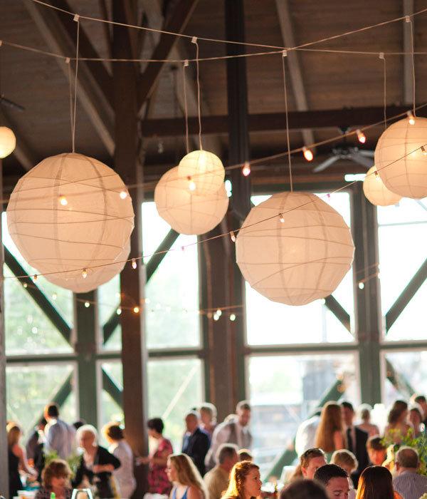 How to make hanging paper lanterns photo of the day - Make hanging lanterns ...