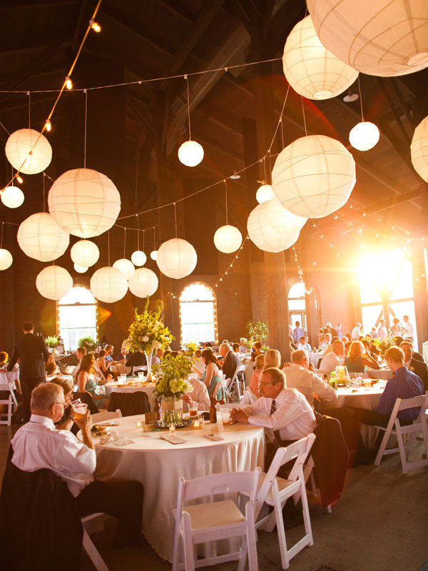 Paper Lanterns - Wedding Reception Decor | Wedding Planning, Ideas