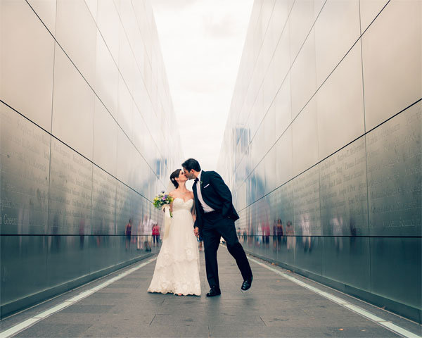 liberty state park wedding photos