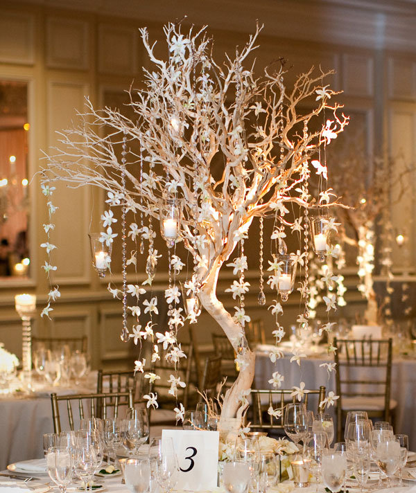 Pics Photos Manzanita Branches Wedding Centerpieces Images Pictures
