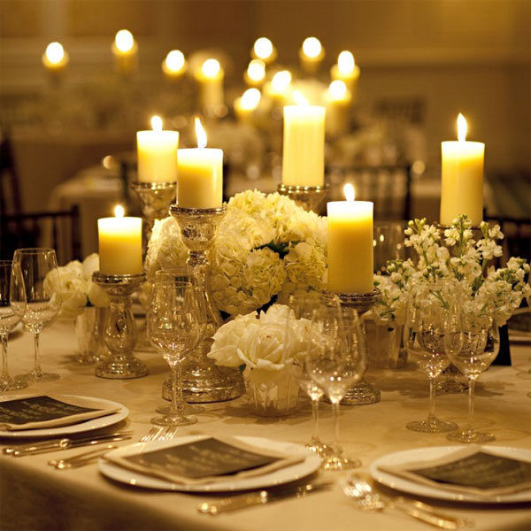 Wedding Centerpieces With Candles: Photo Of The Day