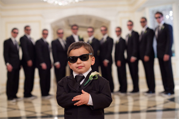 put the spotlight on your ring bearer