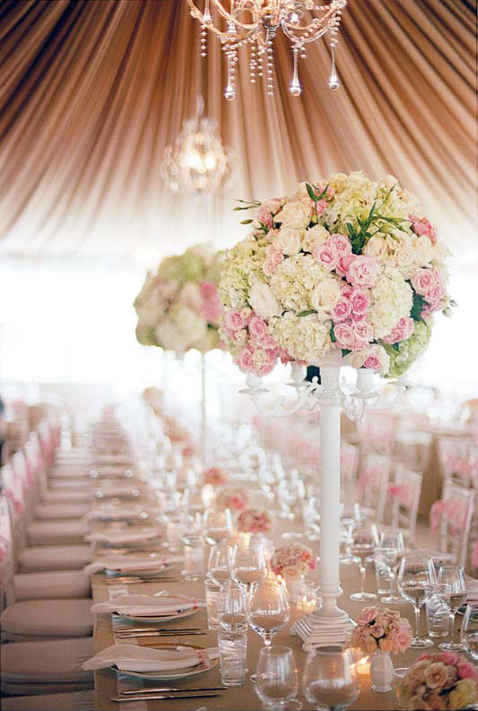 Romantic Wedding Decor - Wedding Reception Decor | Wedding