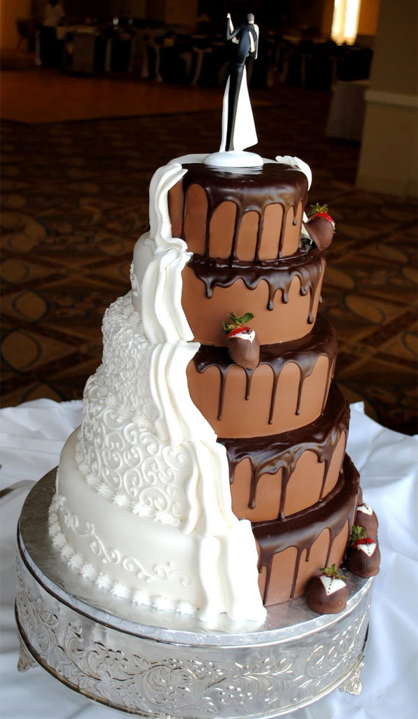 Wedding Cakes - Modern Wedding Cakes | Wedding Planning, Ideas