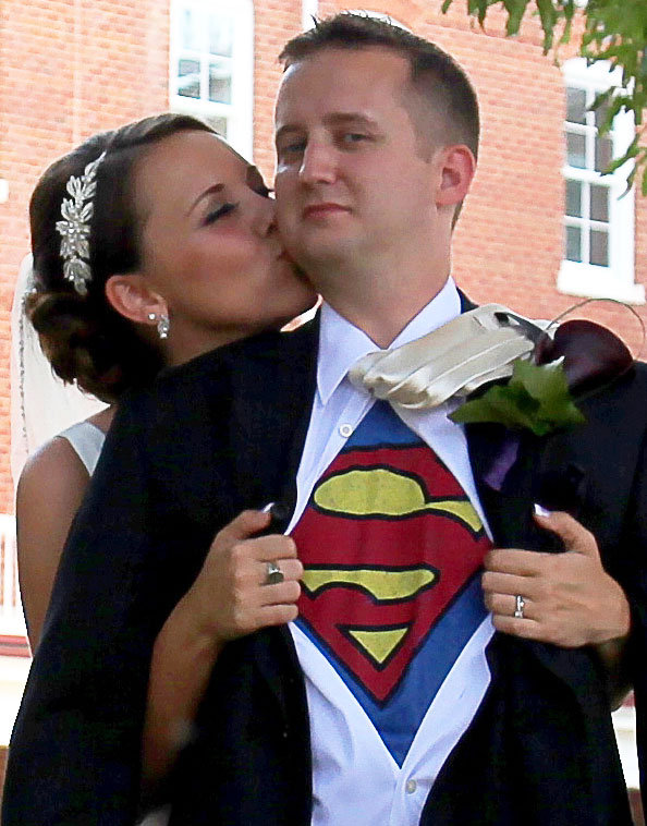 superhero groom
