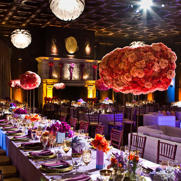 Wedding Centerpieces Travel Theme: Wedding the van dusen mansion ...