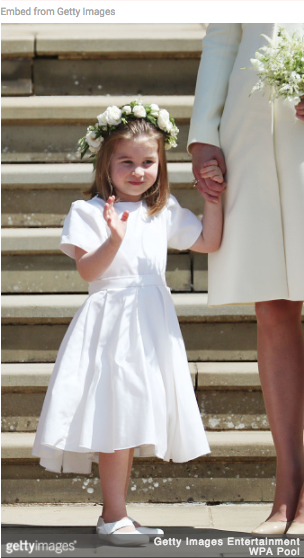 Princess Charlotte Bridesmaid Dress