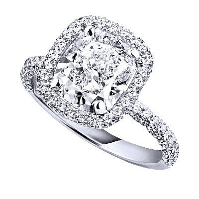 images cushion diamond ring classic pinterest engagement best bling cut rings myweddingdotcom on