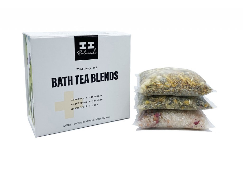 I and I Botanical Bath Teas with CBD