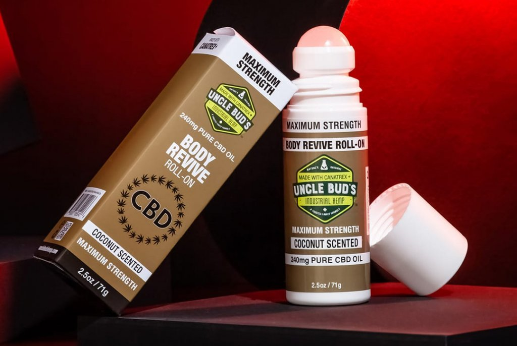 Uncle Bud's Body Revive CBD Roll On
