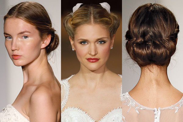 twisted wedding hairstyles