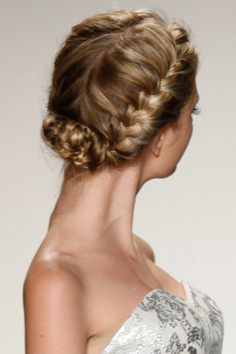 gorgeous braided wedding hairstyles | bridalguide
