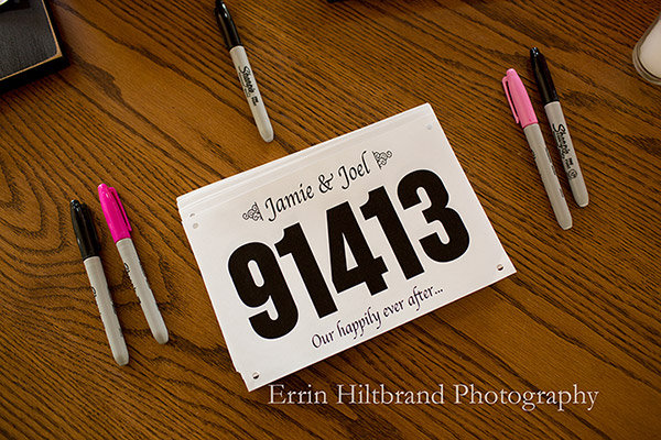 running save the date