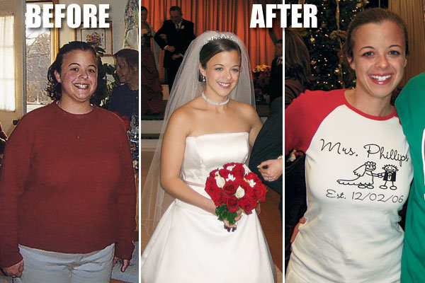 This Bride To Be Had Two Excellent Reasons Embark On A Major Weight Loss Program First Of Course Julie Was Getting Married Always Prime Motivator