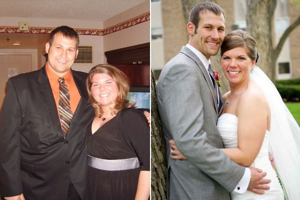 couple lost 200 pounds