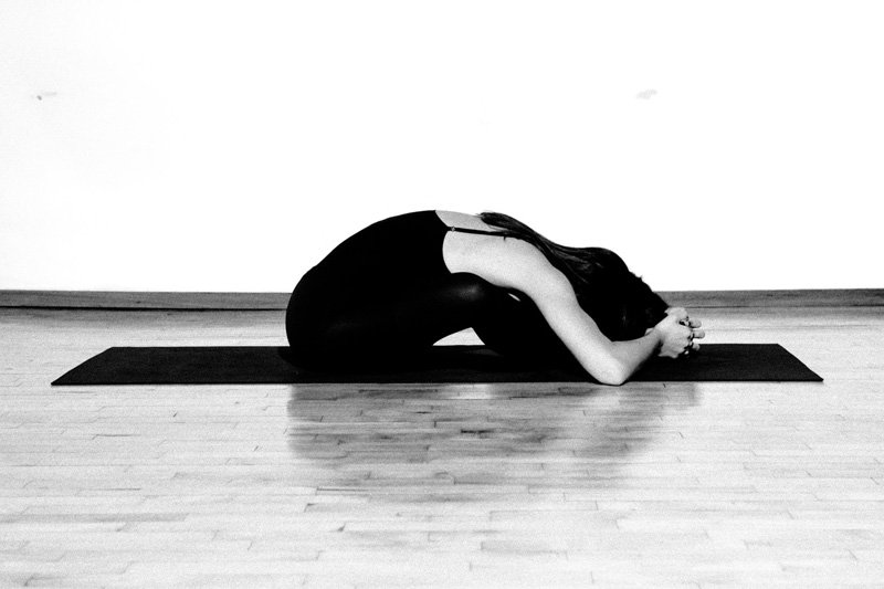 yoga diamond pose