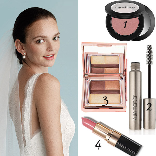 A Dusty Rose Blush Like Smashbox Rush In Chiffon Will Create That Essential Bridal Radiance 2 Ly Laura Mercier