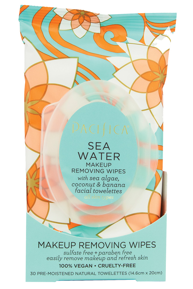 Pacifica Sea Water Makeup Removing Wipes