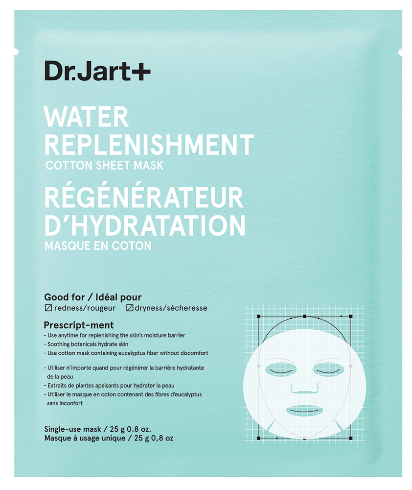 Dr. Jart Water Replenishment Cotton Sheet Mask